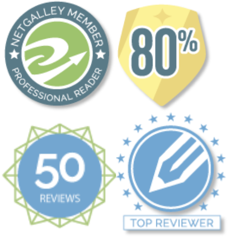 NetGalley Badges, professional reader, Top Book Reviewer